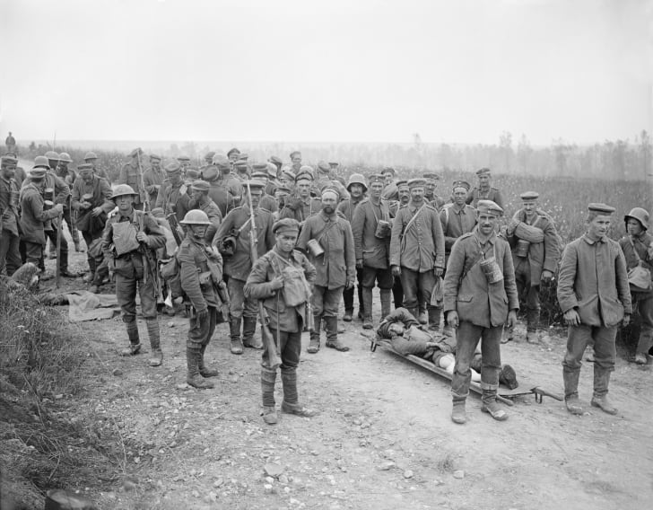 German POWs in World War I