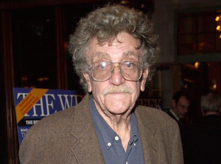 Author Kurt Vonnegut attends 'The Week at Grand Central: A Series of Conversations' on September 30, 2002 at Grand Central Station in New York City