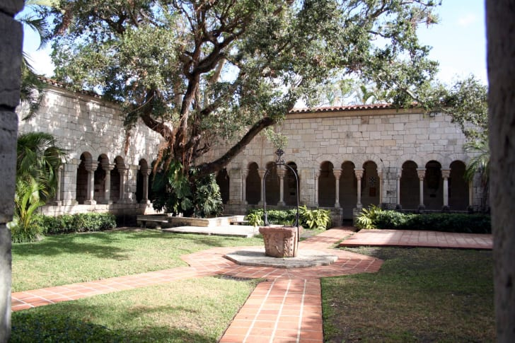 St. Bernard de Clairvaux cloister known as the ancient Spanish monastery, Miami, Florida
