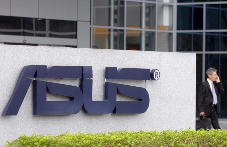 Asus Company Sign