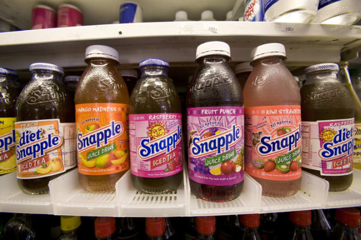 Bottle Service: How Snapple Took Over the 1990s | Mental Floss