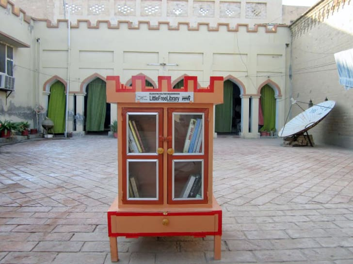 Little Free Library in Pakistan