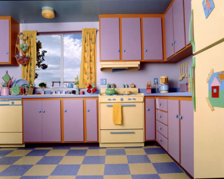 A look at the design of the Simpsons' kitchen