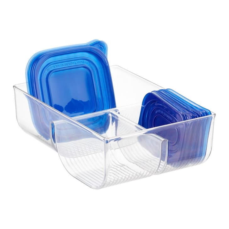 Container for storage lids.