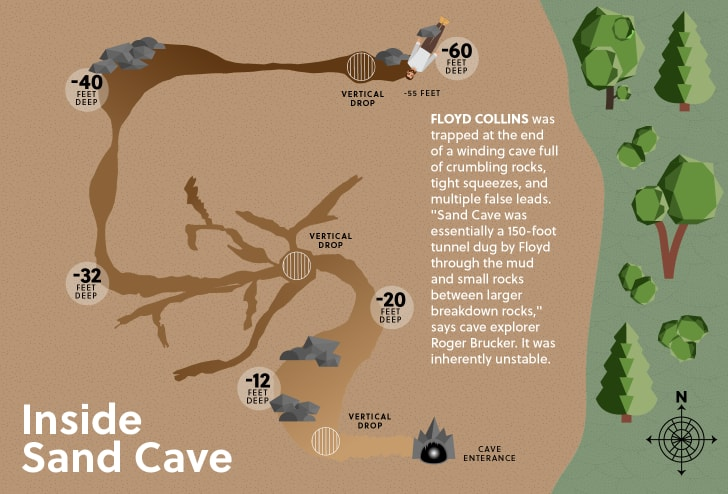 Cave map