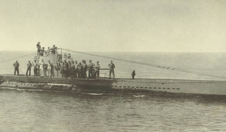 German U-boat U38, World War I