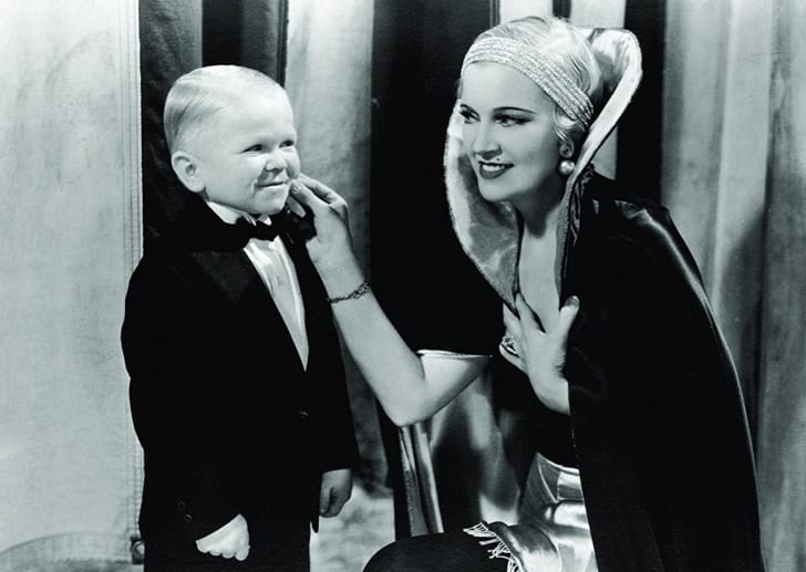 Olga Baclanova and Harry Earles in 'Freaks' (1932)