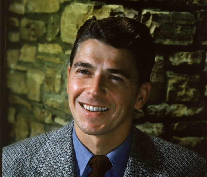 Ronald Reagan in a publicity shot during his acting days