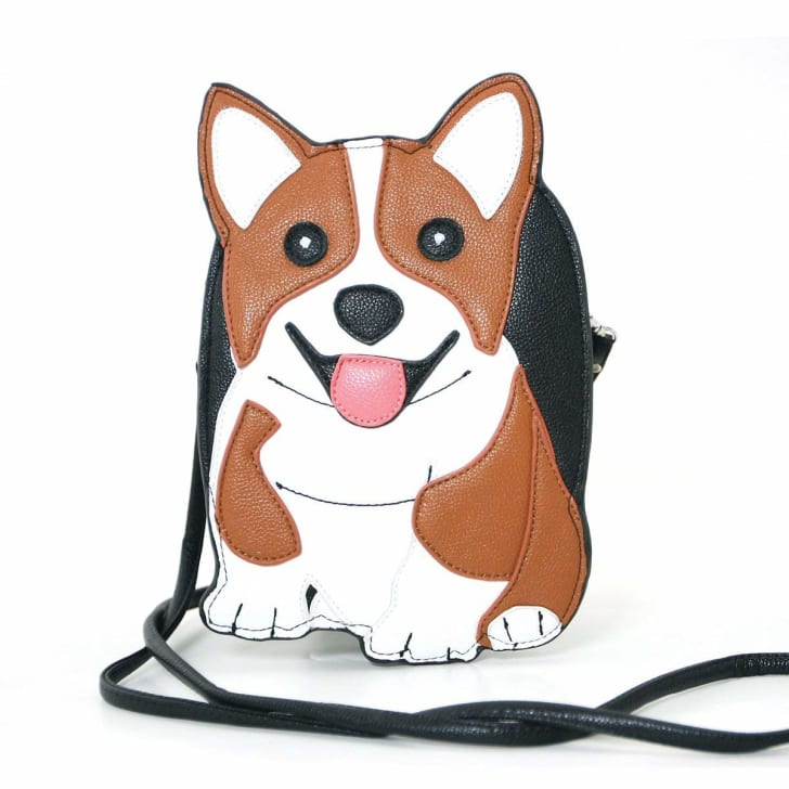 Corgi-shaped purse