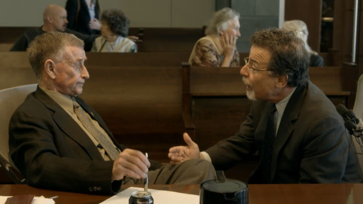 Michael Peterson and David Rudolf in 'The Staircase (2018)