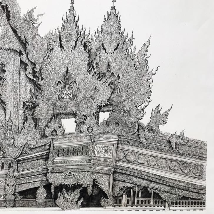 Details of the drawing