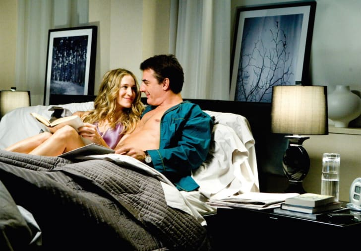 Sarah Jessica Parker and Chris Noth in 'Sex and the City'