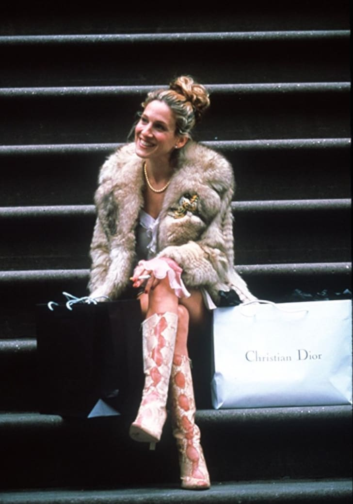 Sarah Jessica Parker in Sex and the City (1998)