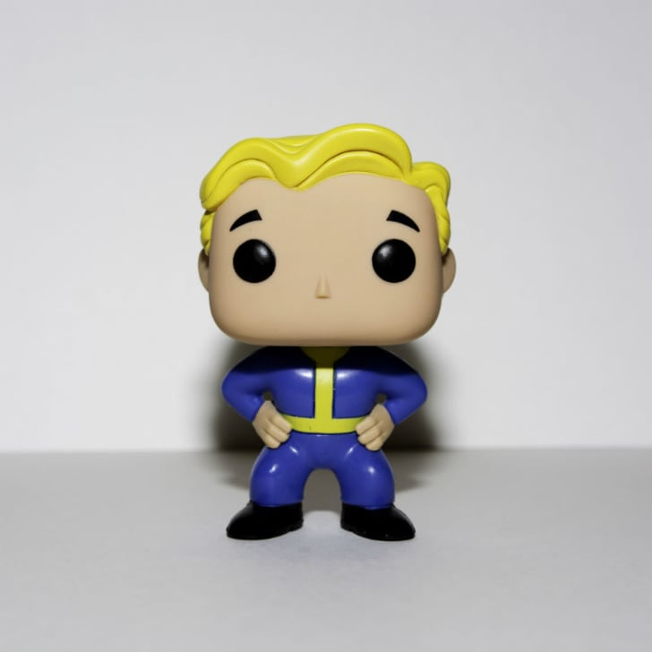 A Funko Pop! of Vault Boy