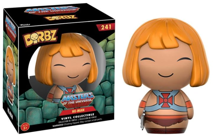 A Funko Dorbz figure of He-Man
