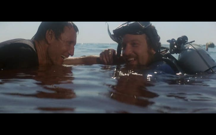 A screen grab from 'Jaws' (1975)