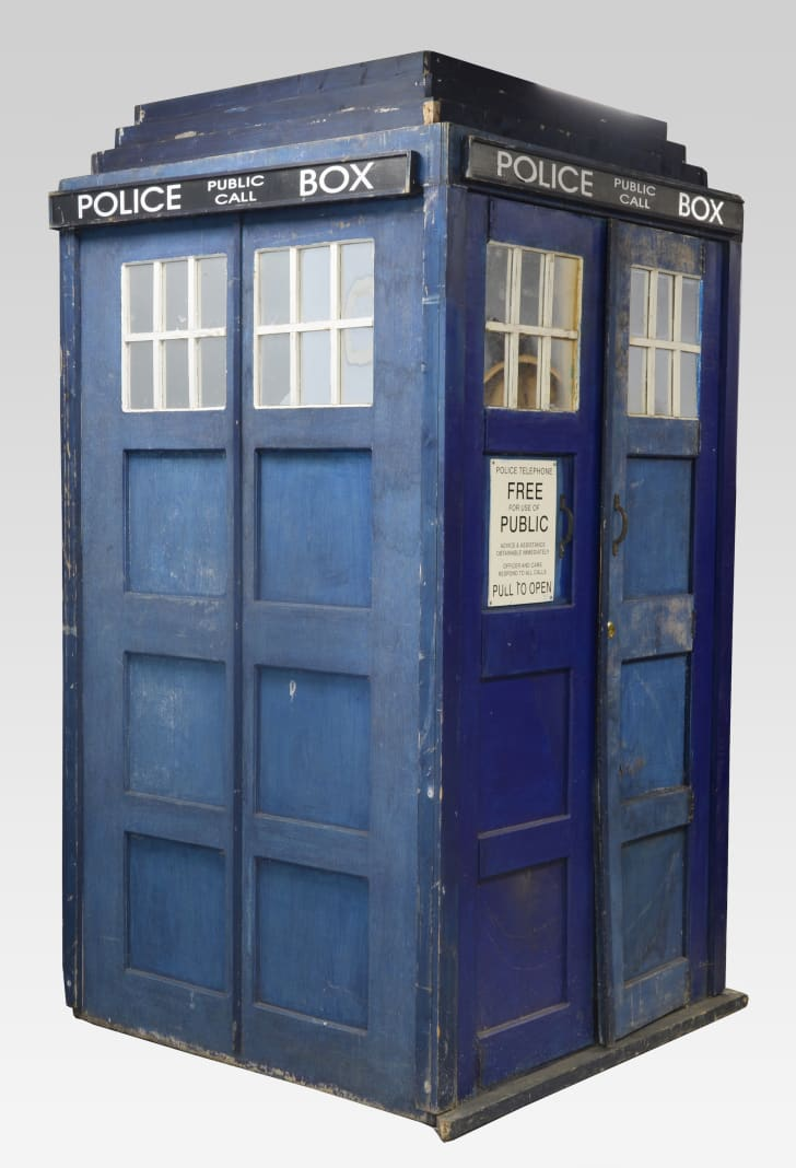 Ewbank's is auctioning a TARDIS created for 1965's 'Dr. Who and the Daleks'
