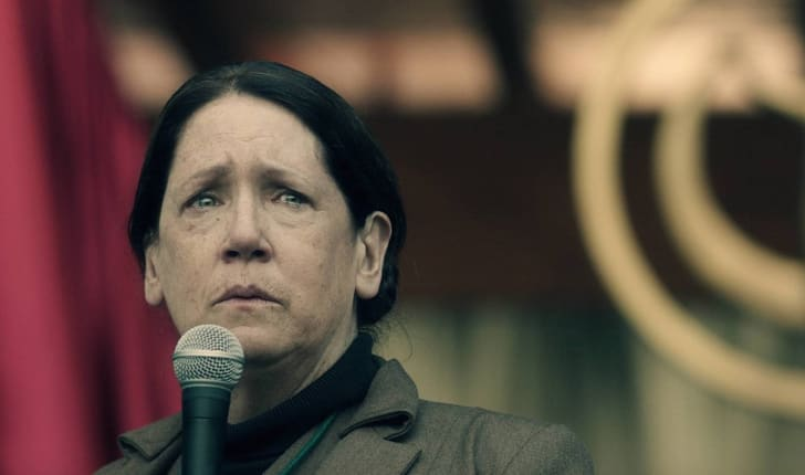 Ann Dowd plays Aunt Lydia in 'The Handmaid's Tale'