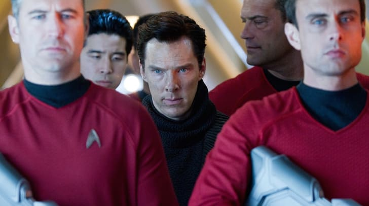 Benedict Cumberbatch stars in 'Star Trek Into Darkness' (2013)