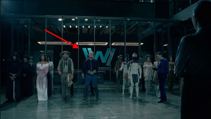 A scene from 'Westworld'