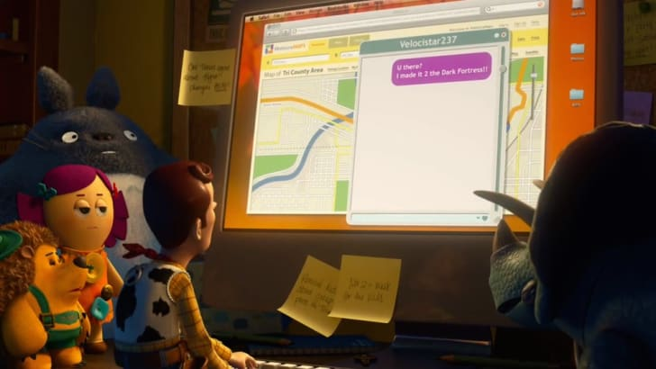 The number 237 makes an appearance in 'Toy Story 3' (2010)