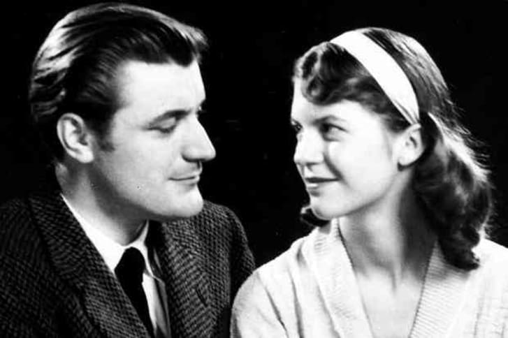 Poets Ted Hughes and Sylvia Plath