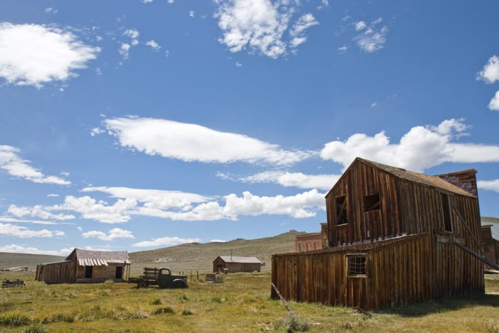 A house in Bodie, California