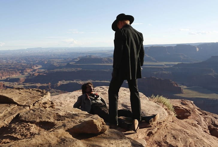 Ed Harris and Eddie Rouse in 'Westworld'
