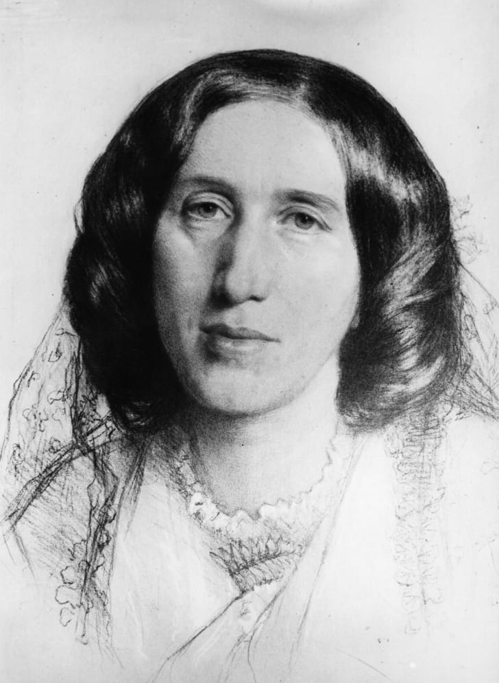 George Eliot, circa 1868.
