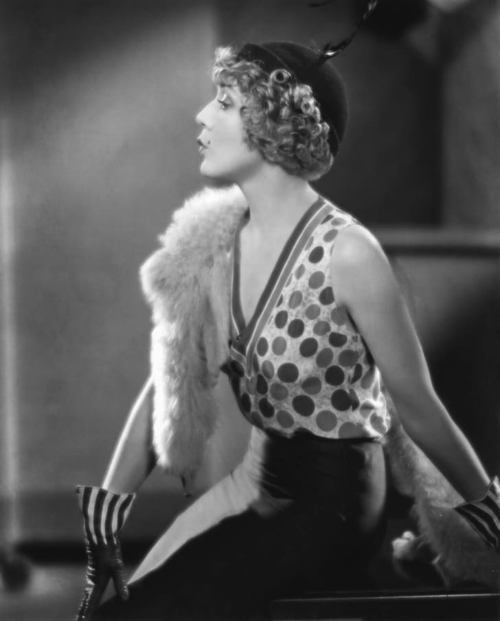 Mary Pickford in the American comedy film 'Kiki' (1931)