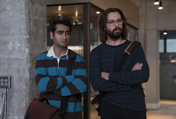 Kumail Nanjiani and Martin Starr in 'Silicon Valley'