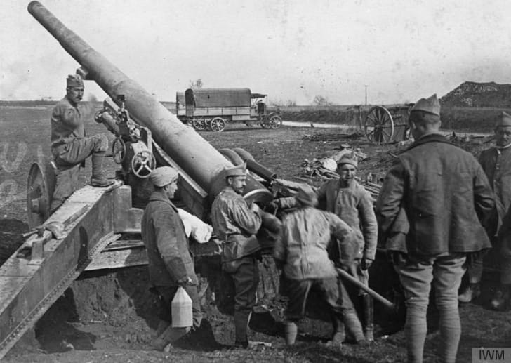 French gunners in World War I