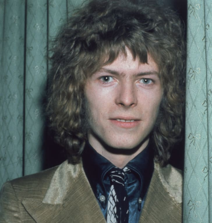 A photo of David Bowie circa 1970