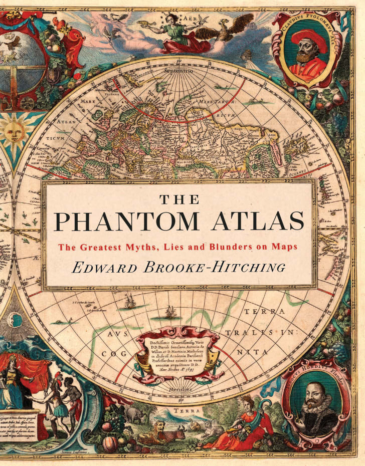 Phantom Atlas book jacket cover