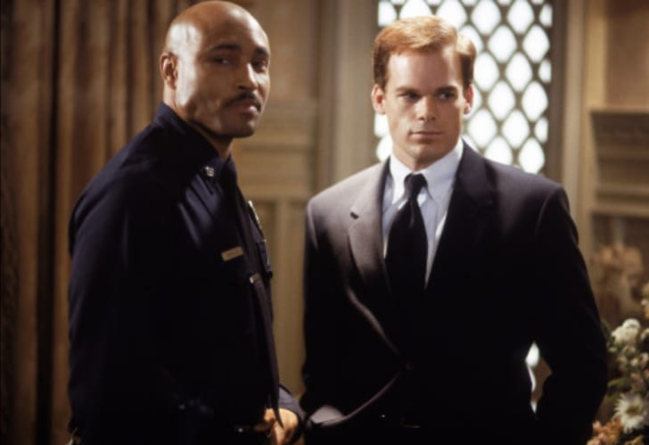 Michael C. Hall and Mathew St. Patrick in 'Six Feet Under'