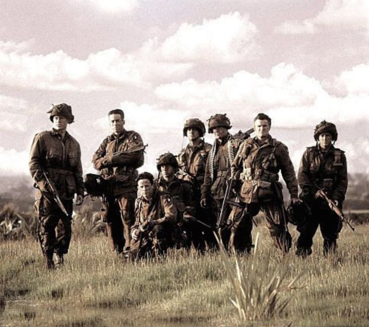 A still from 'Band of Brothers' (2001)