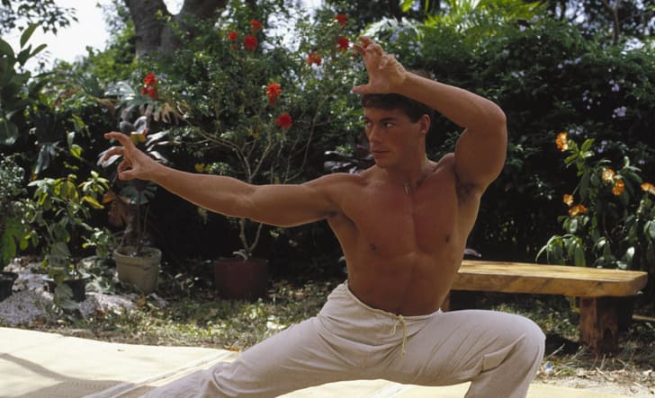 Jean-Claude Van Damme in 'Bloodsport' (1988)
