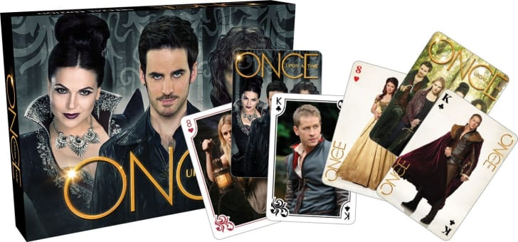 Once Upon A Time Matchbox Playing Card Set
