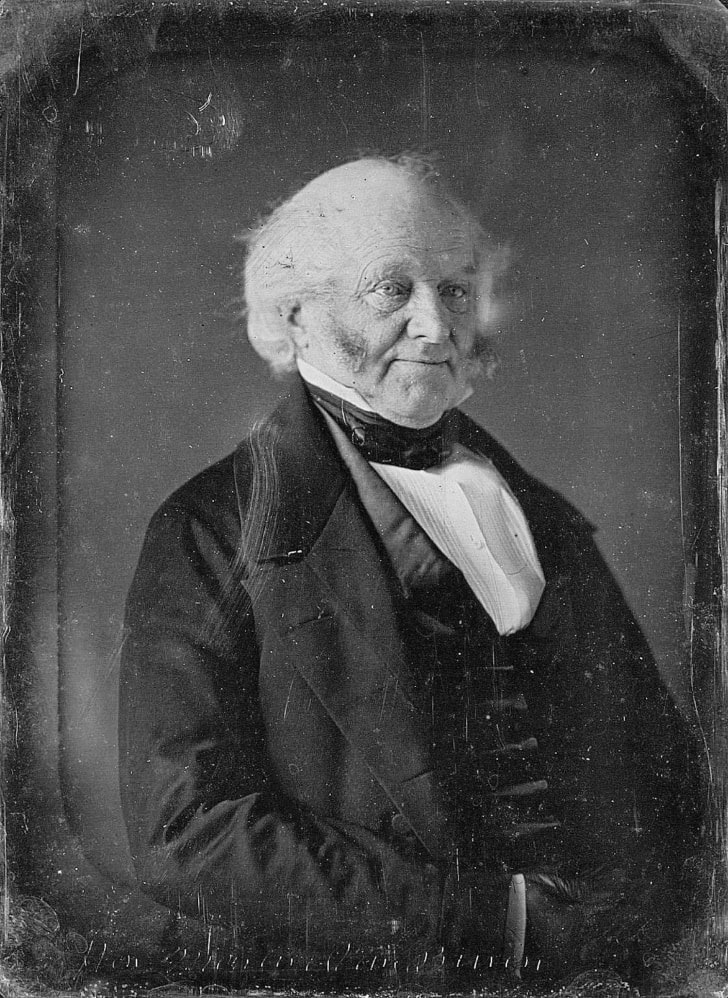 Photo of Martin Van Buren by Mathew Brady