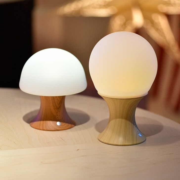 mushroom night-light