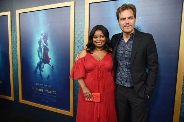 Michael Shannon and Octavia Spencer make an appearance to promote 'The Shape of Water'