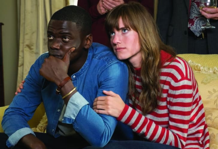 Daniel Kaluuya and Allison Williams in 'Get Out' (2017)