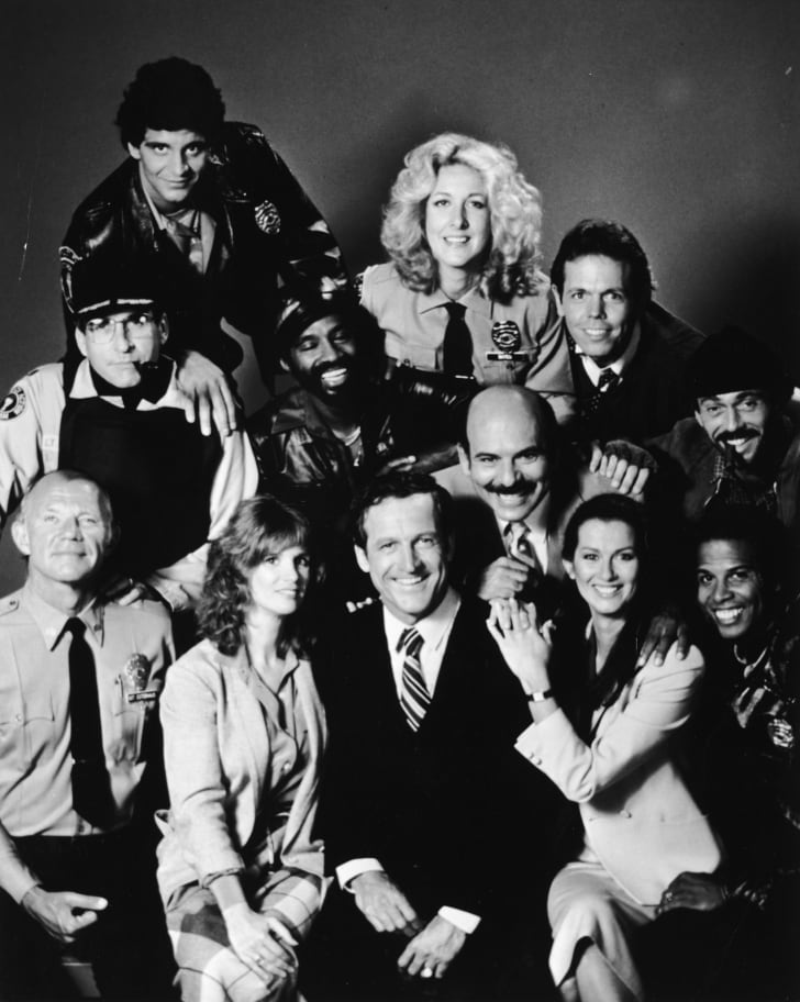 A 'Hill Street Blues' cast photo
