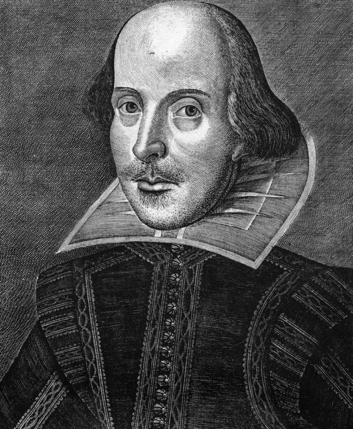 English dramatist William Shakespeare (1564 - 1616), circa 1600