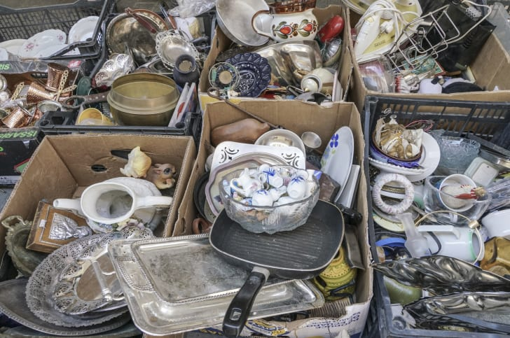 One With the Junk: On the Scene at
