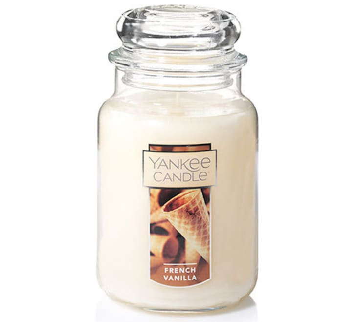 French vanilla Yankee candle
