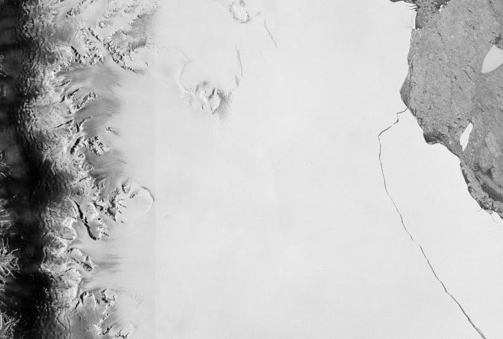 Larsen C ice shelf