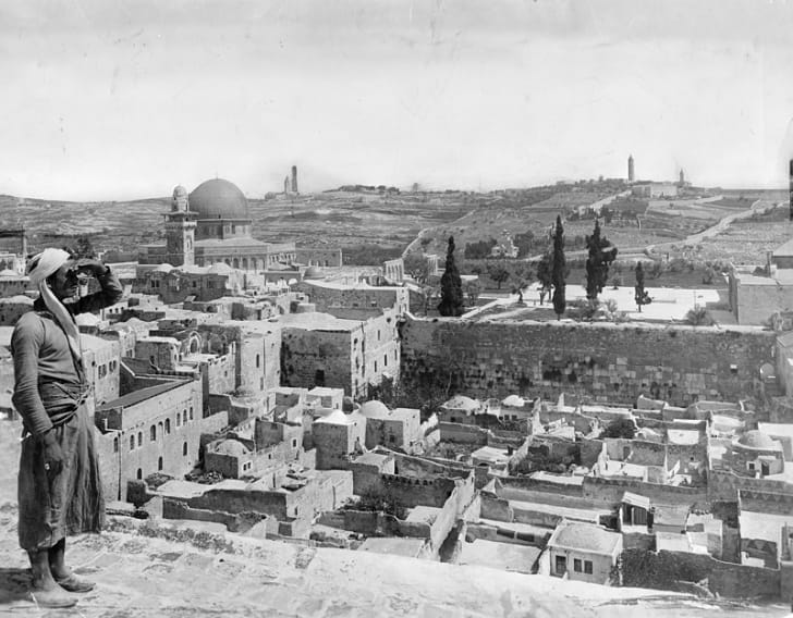 View of Jerusalem, 1917