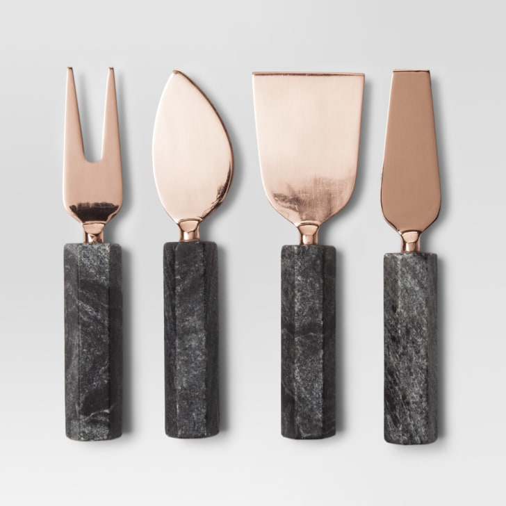 Target Project 62 copper cheese knife set