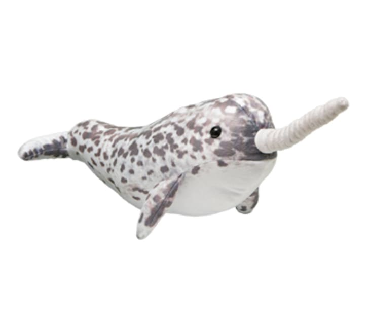 Narwhal plush doll.